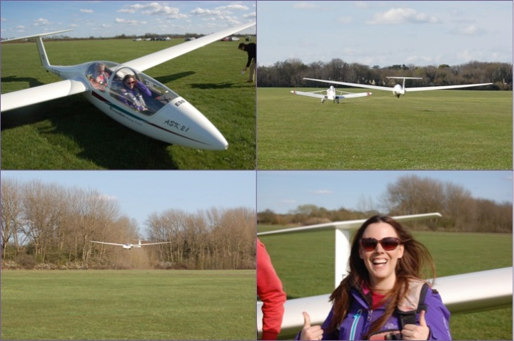 Up, up and away at Bicester Gliding Centre