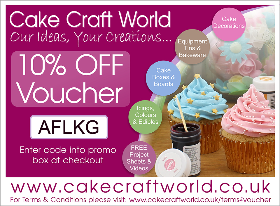 10% off at Cake Craft World