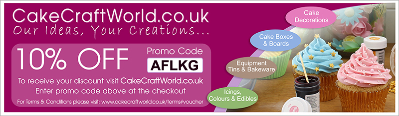 10% off at Cake Craft World