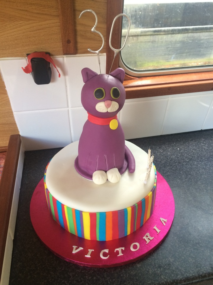 Ultimate Cat Pinata Cake